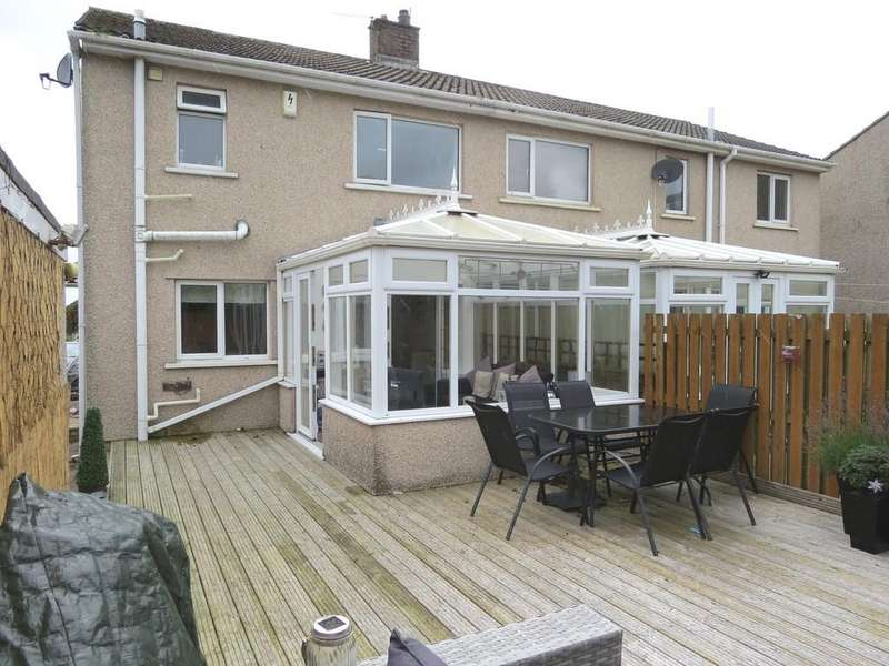 3 Bedrooms Semi Detached House for sale in Carlton Drive, Whitehaven, Cumbria