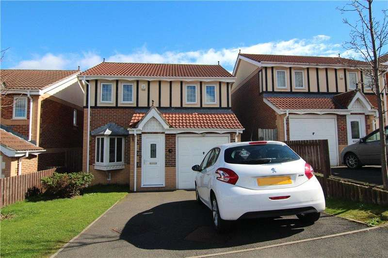 3 Bedrooms Detached House for sale in Hilltop Road, Bearpark, Durham, DH7