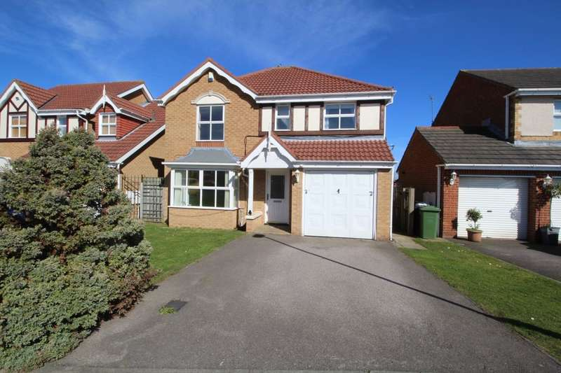 4 Bedrooms Detached House for sale in Englemann Way, Burdon Vale, Sunderland, SR3