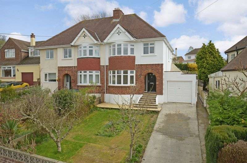 3 Bedrooms Semi Detached House for sale in Longford Park, Kingsteignton