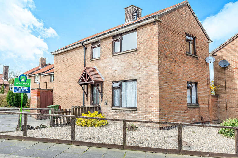 3 Bedrooms Detached House for sale in Windsor Gardens, Alnwick, NE66