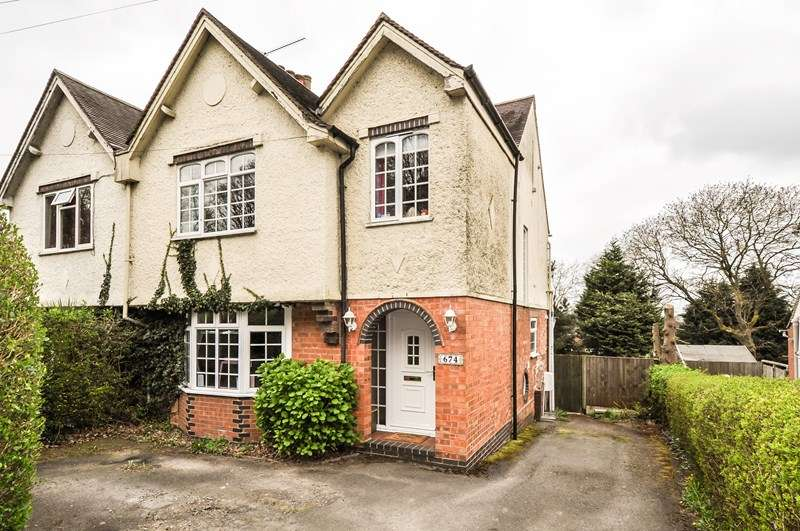 3 Bedrooms Semi Detached House for sale in Evesham Road, Redditch