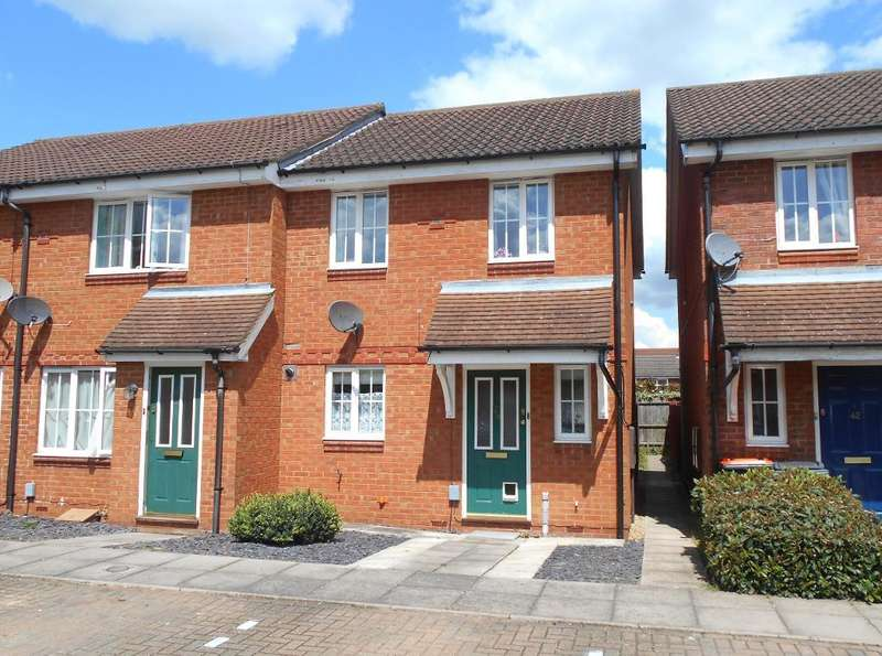 3 Bedrooms End Of Terrace House for sale in Dorsey Drive, Bedford, Bedfordshire, MK42 9FL