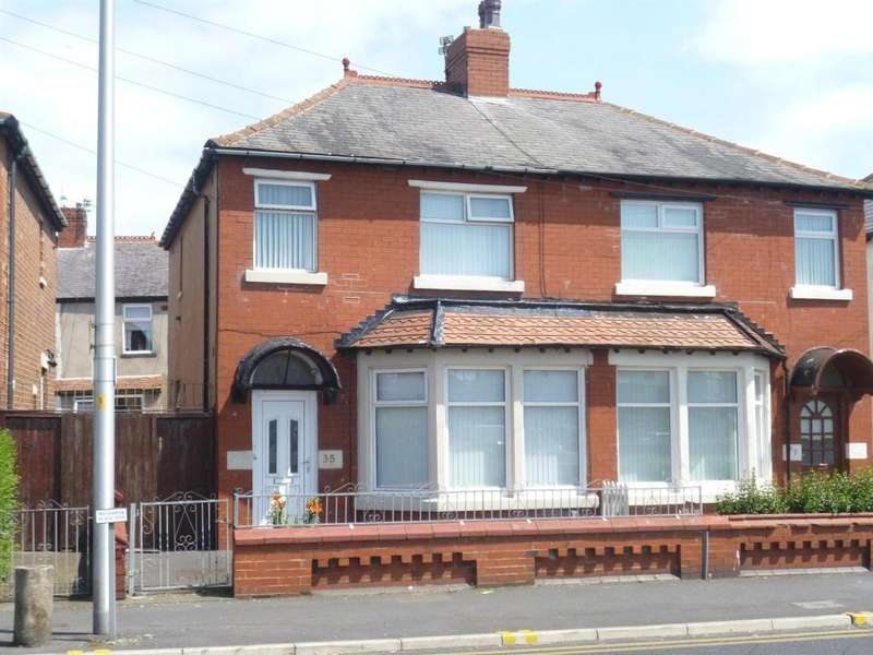 3 Bedrooms Semi Detached House for sale in Ansdell Road, Blackpool, Lancashire, FY1 5LZ