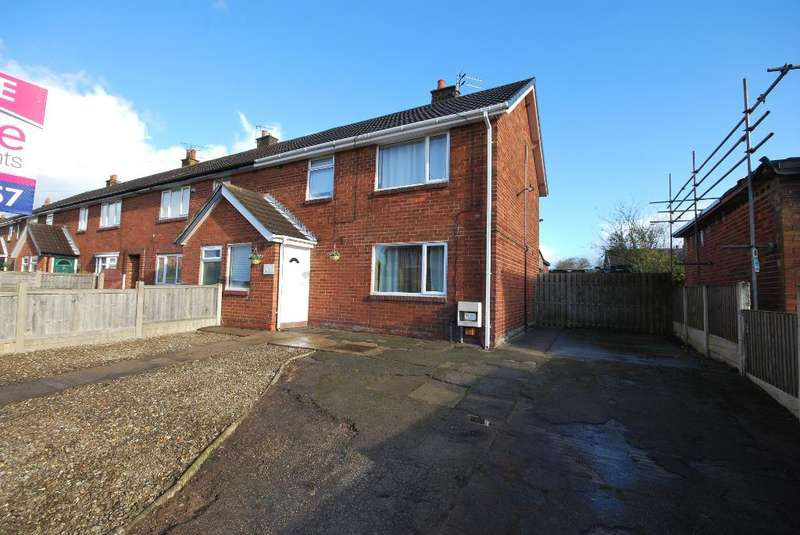 3 Bedrooms Semi Detached House for sale in Clitheroes Lane, Freckleton, Preston, Lancashire, PR4 1SE