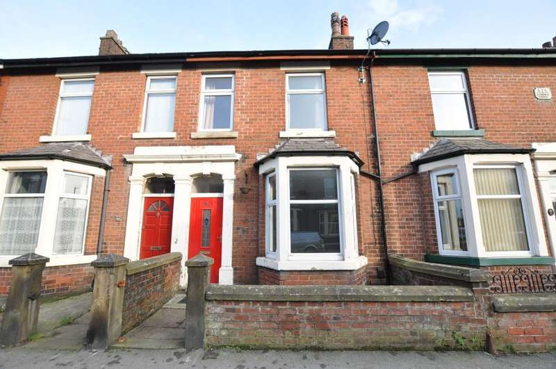 3 Bedrooms Terraced House for sale in Garstang Road North, Wesham, Preston, Lancashire, PR4 3DB