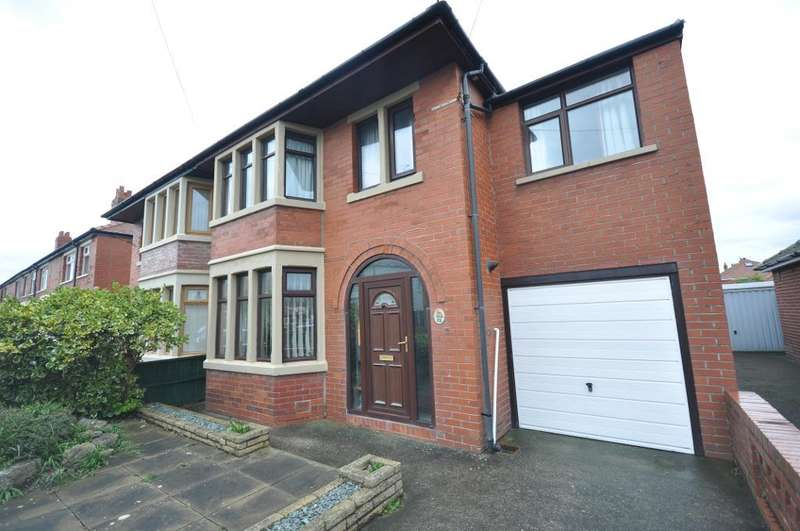 4 Bedrooms Semi Detached House for sale in Nateby Avenue, South Shore, Blackpool, Lancashire, FY4 3QY