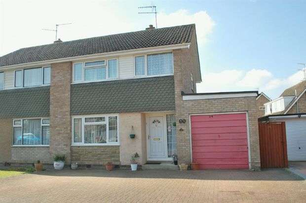 3 Bedrooms Semi Detached House for sale in Wrenbury Road, Duston, Northampton NN5 6XW