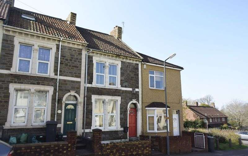 2 Bedrooms Terraced House for sale in Britannia Road, Kingswood, Bristol, BS15 8BG