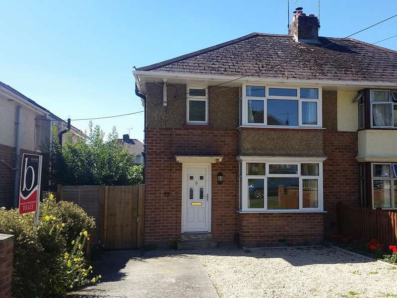 3 Bedrooms Semi Detached House for sale in ST HUBERT ROAD, ANDOVER, ANDOVER SP10