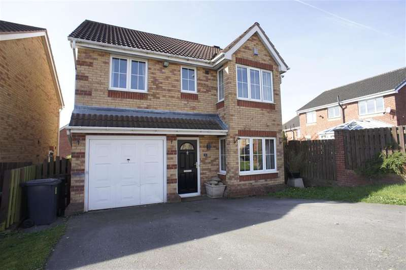 4 Bedrooms Detached House for sale in Parklands View, Aston, Sheffield S26 2GW