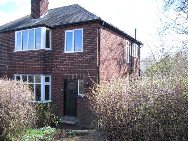 3 Bedrooms Semi Detached House for sale in Hollin Park Mount LS8