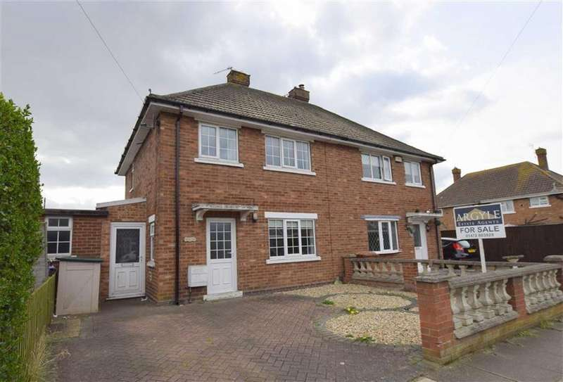 3 Bedrooms Semi Detached House for sale in Newstead Road, Cleethorpes, North East Lincolnshire