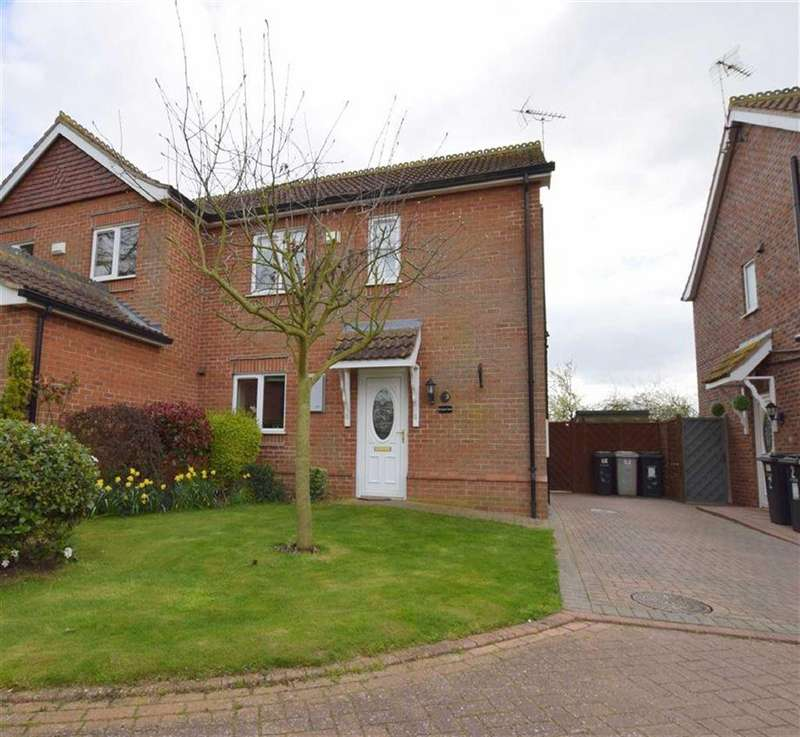 3 Bedrooms Semi Detached House for sale in Swaby Mews, Marshchapel, Lincolnshire
