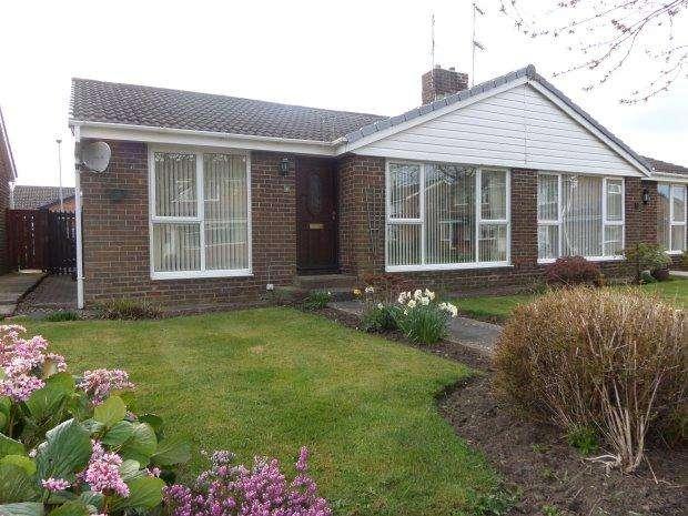 2 Bedrooms Semi Detached Bungalow for sale in BEAUMONT COURT, SEDGEFIELD, SEDGEFIELD DISTRICT