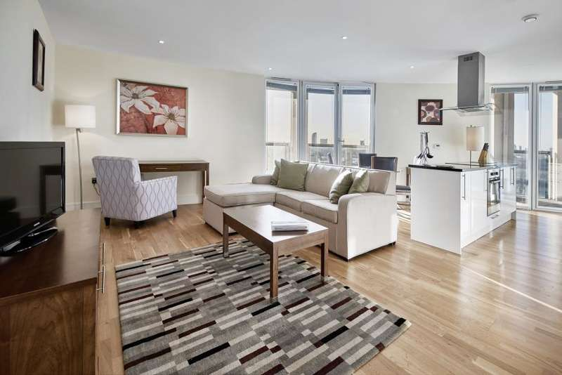 2 Bedrooms Flat for sale in Trinity Tower , Quadrant Walk, E14