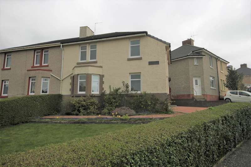 4 Bedrooms Semi Detached House for sale in Garfield Avenue, Bellshill