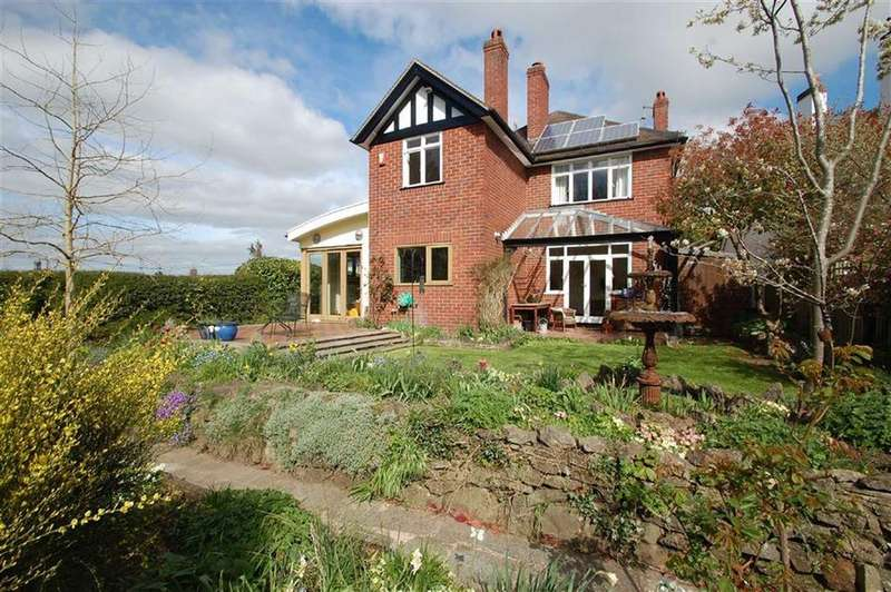 4 Bedrooms Detached House for sale in Luciefelde Road, Shrewsbury
