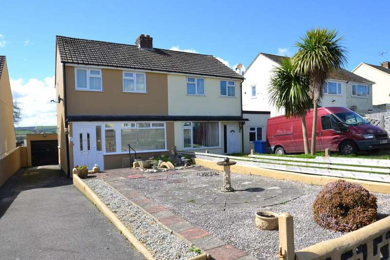 2 Bedrooms Semi Detached House for sale in Queens Crescent, Bodmin