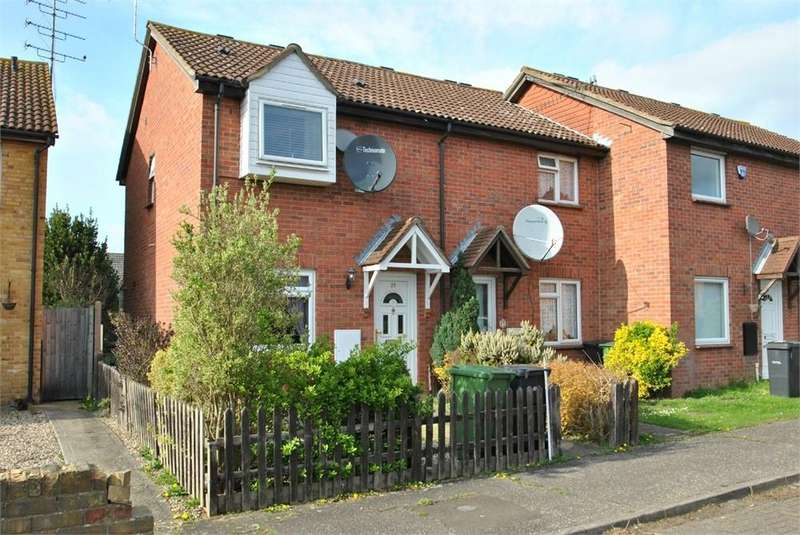 2 Bedrooms End Of Terrace House for sale in Knights Road, BRAINTREE, Essex