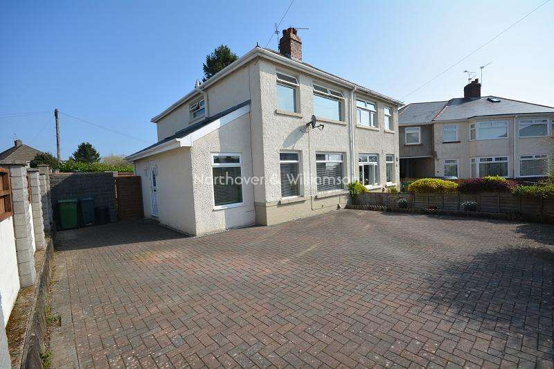 3 Bedrooms Semi Detached House for sale in Ty Fry Gardens, Rumney, Cardiff. CF3
