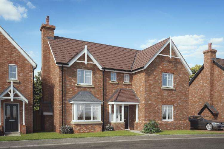 4 Bedrooms Detached House for sale in Plot 3, Ellerdine, Kings Vale, Baschurch, SY4 2DP