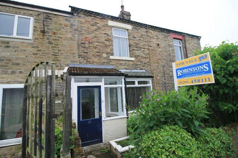 2 Bedrooms Terraced House for sale in Alpine Terrace Evenwood, Bishop Auckland