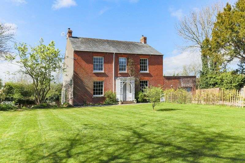 5 Bedrooms Detached House for sale in 5 Bedroom Detached Georgian House, Dymock, Gloucestershire, GL18 2AJ