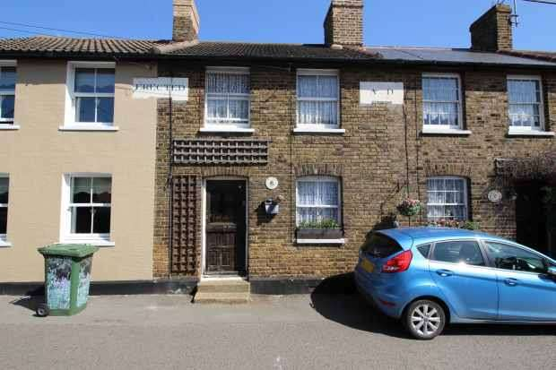 2 Bedrooms Terraced House for sale in Tyas Cottages, East Tilbury Village, Essex, RM18 8PU