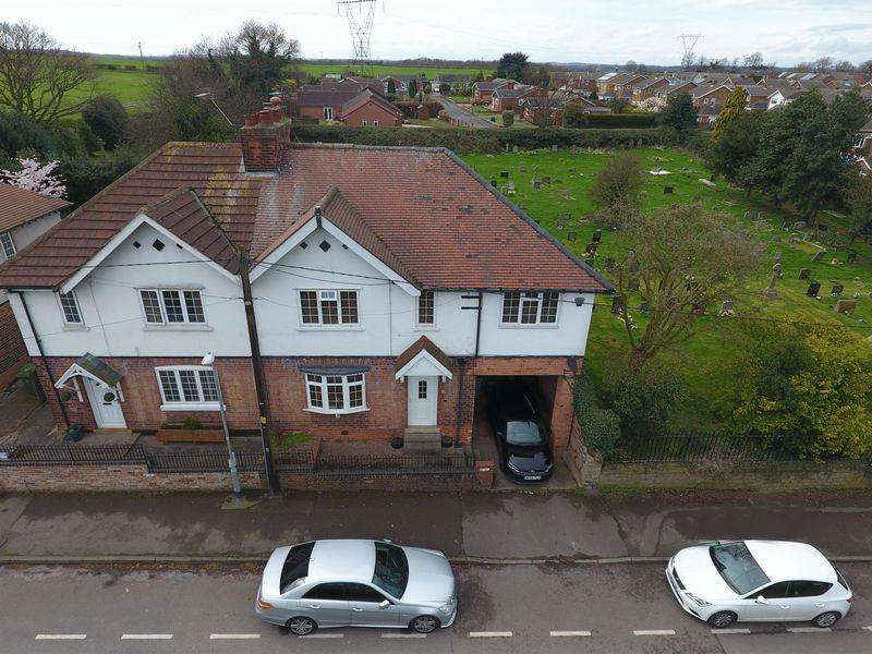 4 Bedrooms Semi Detached House for sale in Spital Road, Blyth, Worksop