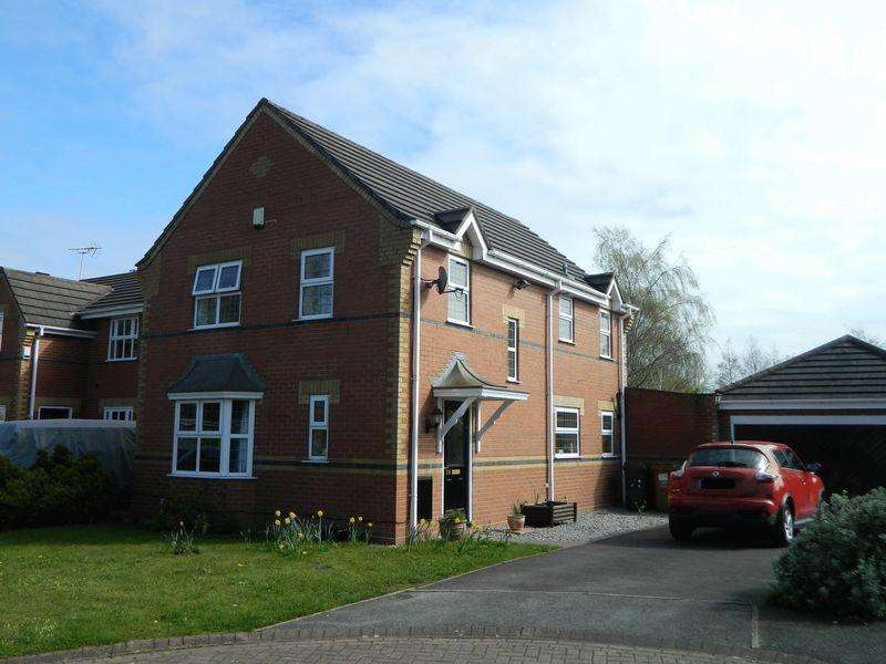 4 Bedrooms Detached House for sale in Byron Close, Sandbach