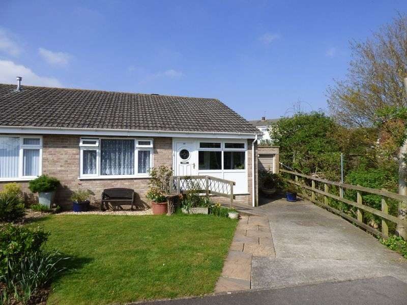 2 Bedrooms Semi Detached Bungalow for sale in Sherwood Crescent, Weston-Super-Mare