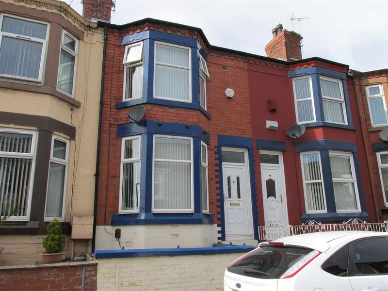 3 Bedrooms Terraced House for sale in Bankville Road, Tranmere