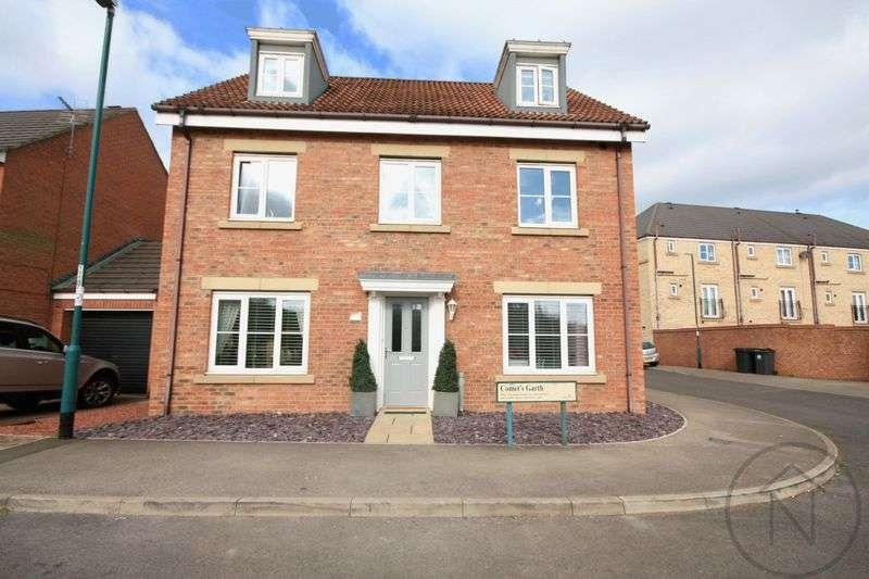 5 Bedrooms Detached House for sale in Comets Garth, Darlington