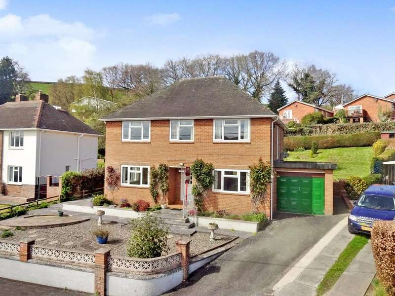 4 Bedrooms Detached House for sale in Bryn Gardens, Newtown, Powys