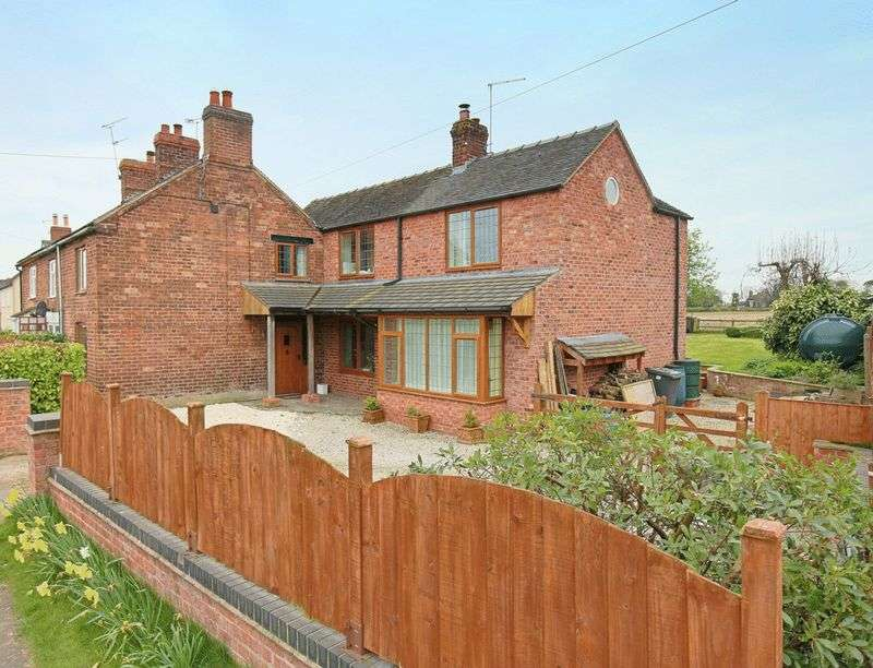 3 Bedrooms Semi Detached House for sale in Audlem Road, Hankelow
