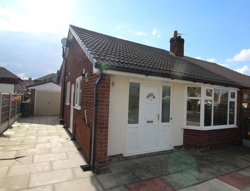 2 Bedrooms Semi Detached Bungalow for sale in Burrswood Avenue, Bury, BL9