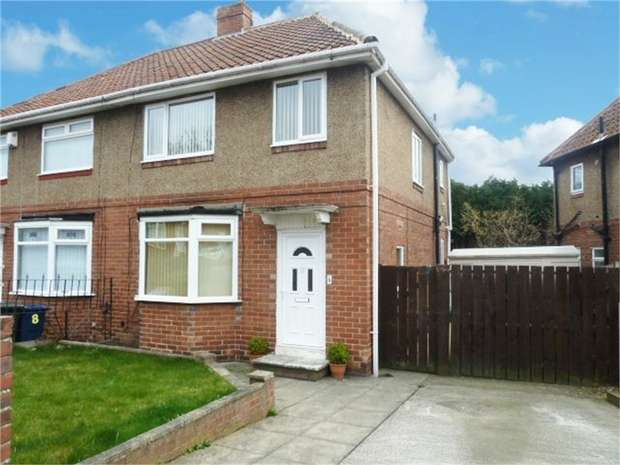 3 Bedrooms Semi Detached House for sale in The Burnside, Newcastle upon Tyne, Tyne and Wear