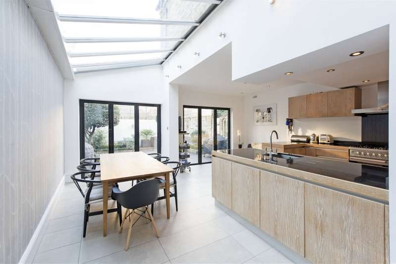5 Bedrooms End Of Terrace House for sale in Keildon Road, Battersea, London