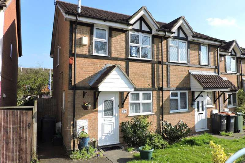 2 Bedrooms End Of Terrace House for sale in Farmbrook, Luton, Bedfordshire, LU2 7SQ