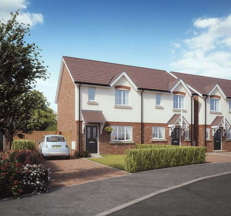 3 Bedrooms Semi Detached House for sale in Plot 9, Kings Vale , Baschurch
