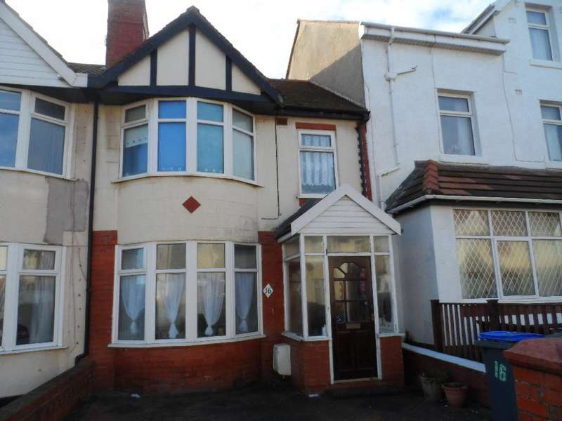3 Bedrooms Terraced House for sale in Haddon Road, Bispham, FY2 9AH