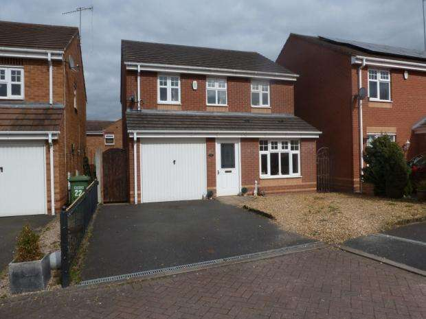 3 Bedrooms Detached House for sale in Lower Birches Way Rugeley