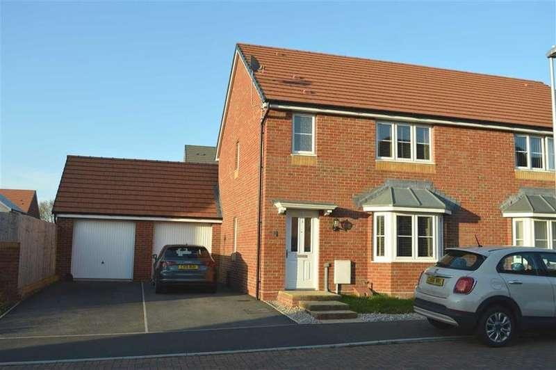 3 Bedrooms Semi Detached House for sale in Ffordd Y Meillion, Penllergaer, Swansea