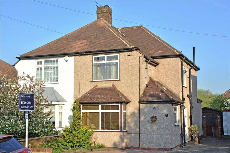 3 Bedrooms Semi Detached House for sale in Elmstead Avenue, Chislehurst, BR7