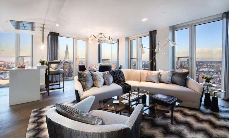 2 Bedrooms Flat for sale in South Bank Tower, 55 Upper Ground, South Bank, London, SE1