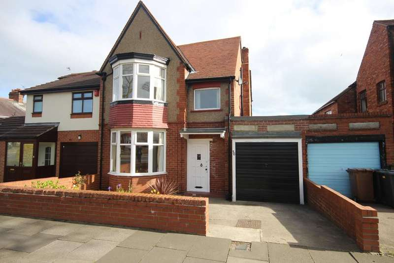 3 Bedrooms Semi Detached House for sale in Seatonville Road, West Monkseaton, Whitley Bay, NE25