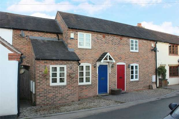 2 Bedrooms Terraced House for sale in Hodge Bower, Ironbridge, Telford, Shropshire