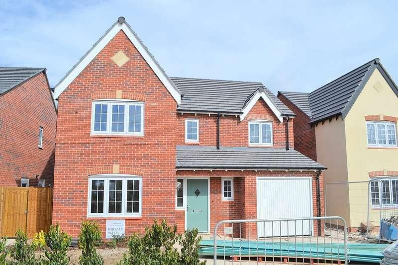 4 Bedrooms Detached House for sale in Causer Road, Barton under Needwood
