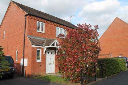 3 Bedrooms Semi Detached House for sale in Congreve Way, Stratford-Upon-Avon